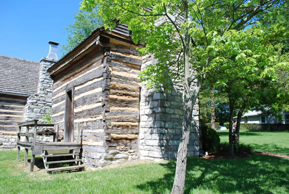 Historic sullivan archives and tourism daniel boone cabin netherland cabin publicscrutiny Image collections